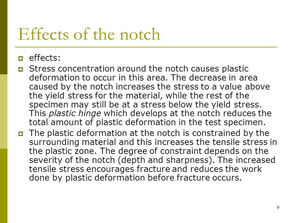 20 5.Percent Brittle Fracture เป็นร้อยละ ของบริเวณรอยแตกแบบเปราะต่อบริเวณ รอยแตกทั้งหมด บริเวณที่แตกเปราะ สังเกตได้โดยจะมีความวาว และผิว ค่อนข้างเรียบ 6.Percent Ductile Fracture เป็นร้อยละ ของบริเวณรอยแตกแบบเหนียวต่อ บริเวณรอยแตกทั้งหมด บริเวณที่แตก เหนียวสังเกตได้โดยจะมีความทึบ และผิว ค่อนข้างหยาบ