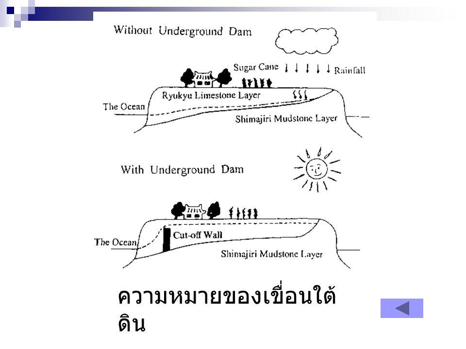 ตัวอย่างรูปภาพตัดขวางที่ได้จากการสำรวจคลื่นไหว สะเทือน (Seismic Cross Section) หลังจากแปล ความหมาย