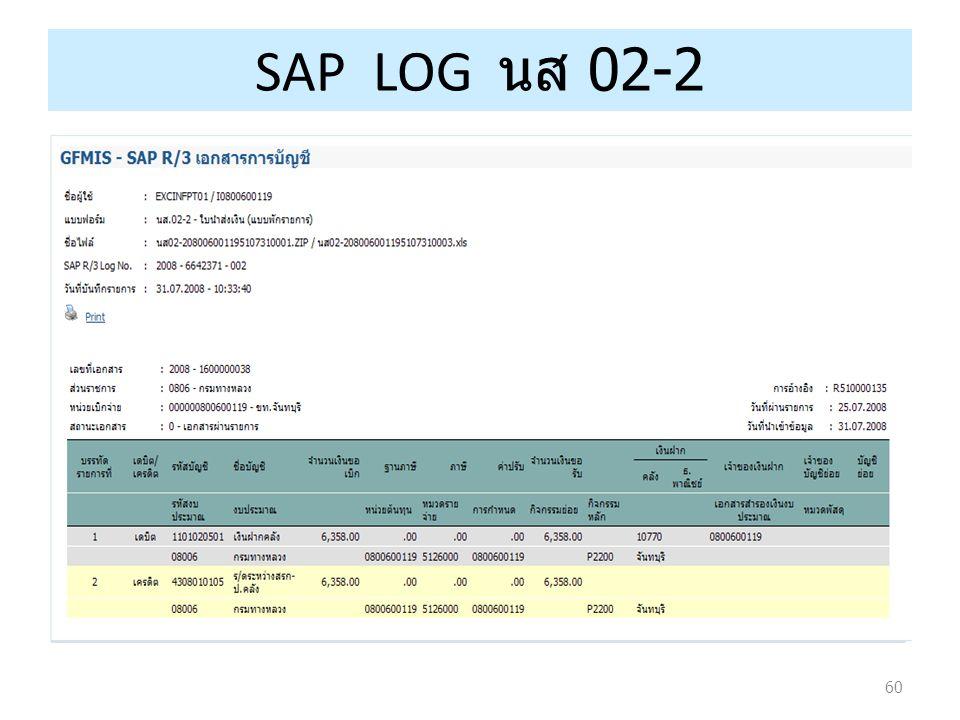 60 SAP LOG นส 02-2