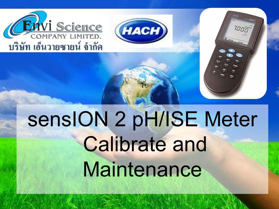www.enviscience.co.th วิธีการ Calibrate Probe pH 7.