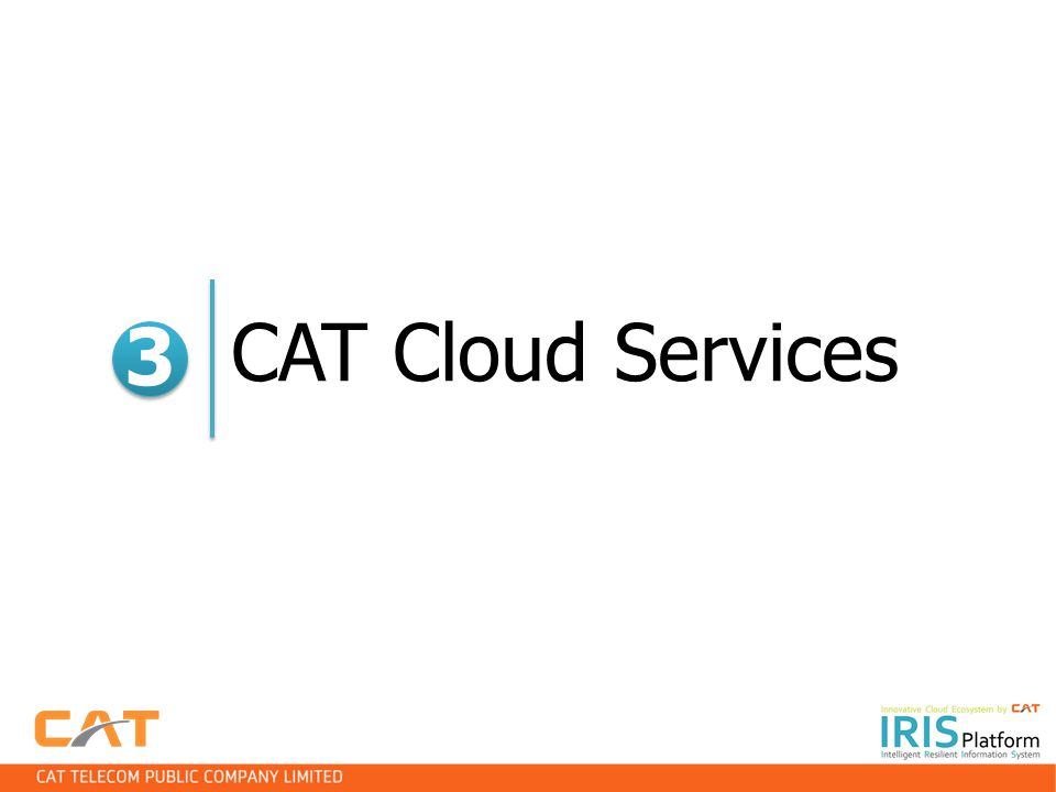 CAT Cloud Services 3 3