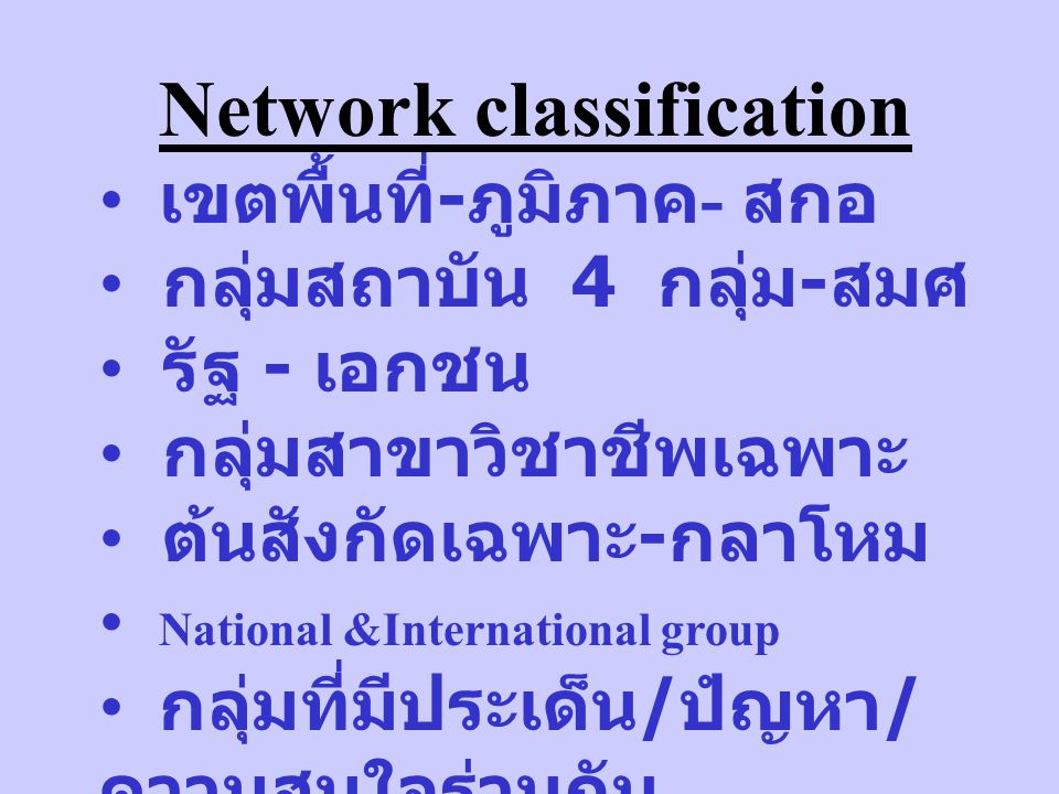 Network of IQA workforce IQA executive IQA steering/functional team IQA support team IQA assessor IQA assessor trainer ตัวอย่าง