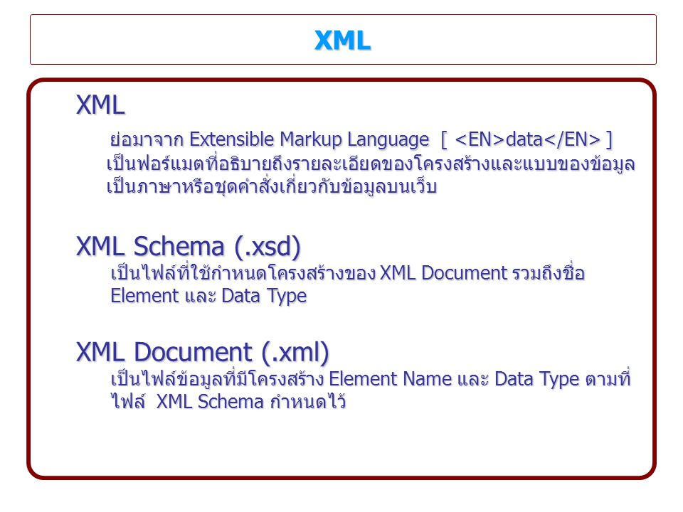 XML Schema of DF_OPI