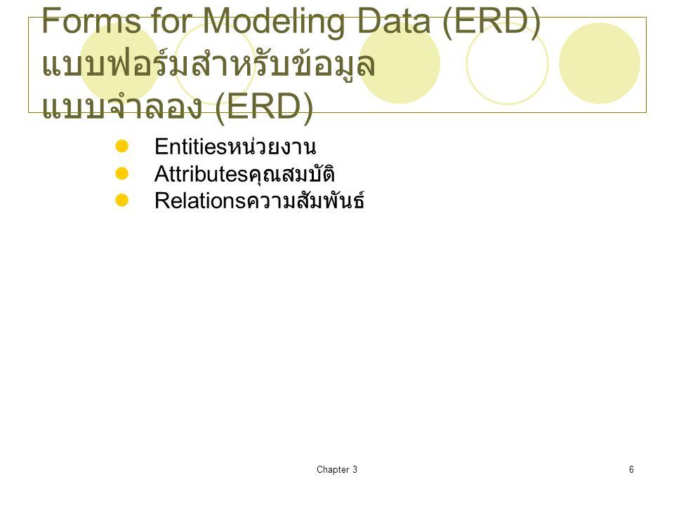 Chapter 37 Hierarchy of Data ลำดับชั้นของข้อมูล