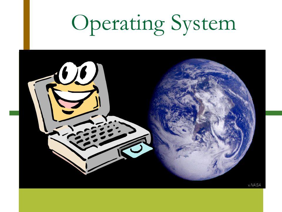 Operating System ฉ NASA