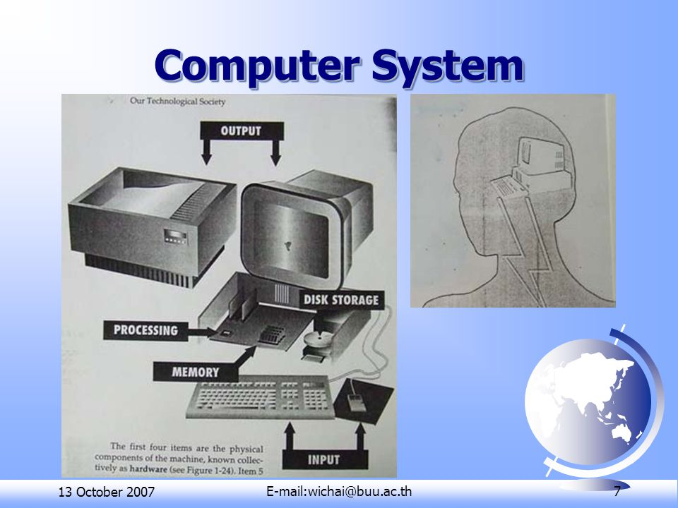 13 October 7 Computer System