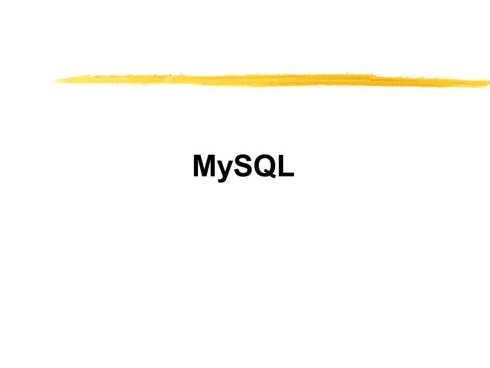 ฟังก์ชันของภาษา PHP ที่ สนับสนุน MySQL  mysql_error – เป็นการคืนข้อความที่เป็น error  String mysql_error();  mysql_fetch_array – ทำการ fetch แถวมา เป็นแบบ array  Int mysql_fetch_array(int result);  mysql_fetch_field – เป็นการหาข้อมูลของ field นั้น  object mysql_fetch_field(int result, int field_offset);