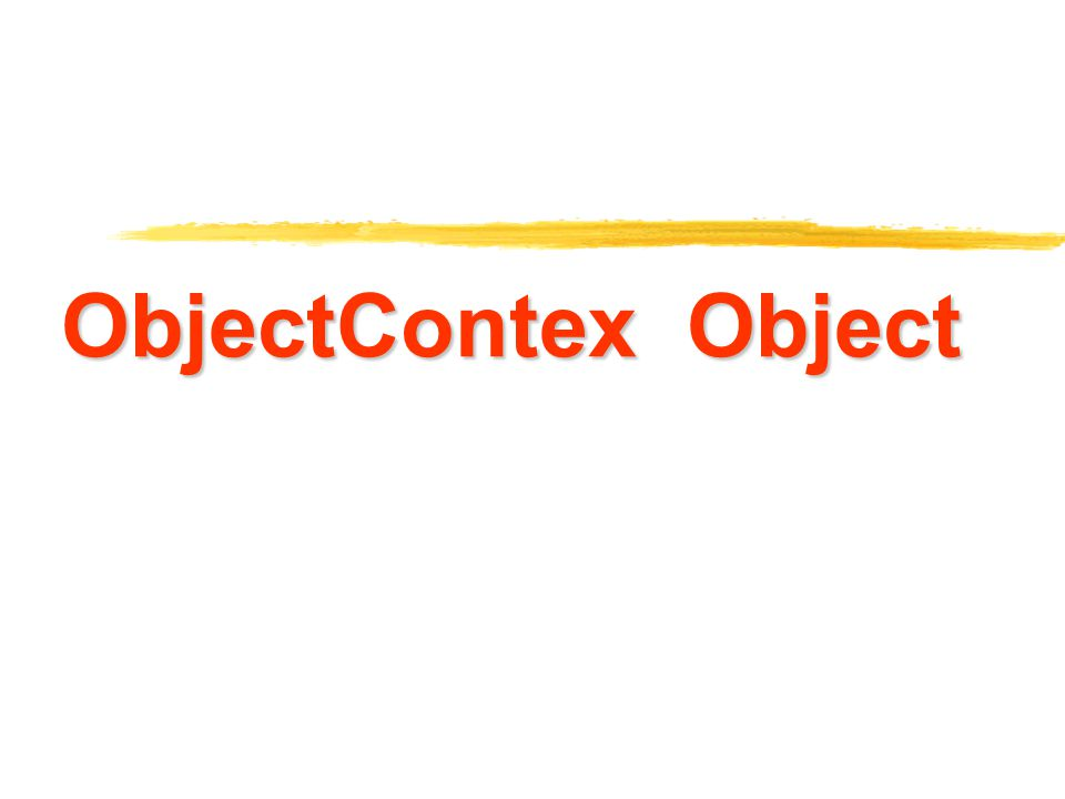 ObjectContex Object