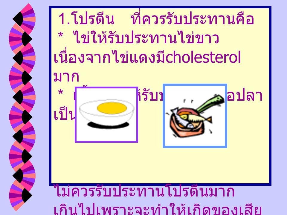 อาหารผู้ป่วยโรคไต