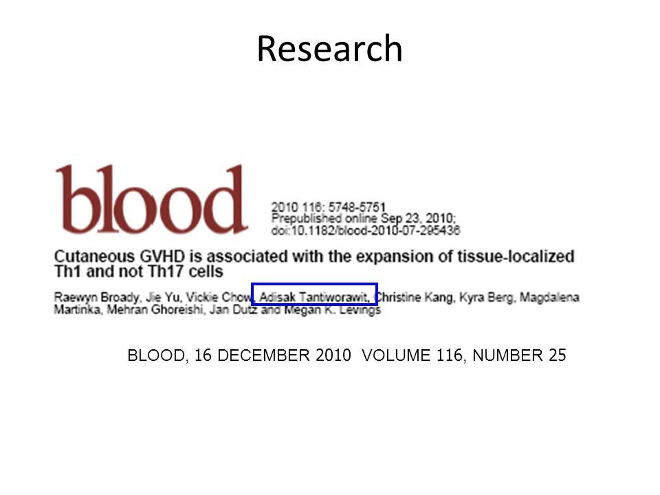 BLOOD, 16 DECEMBER 2010 VOLUME 116, NUMBER 25