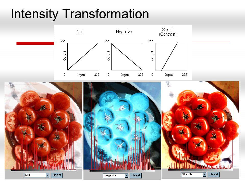 Intensity Transformation