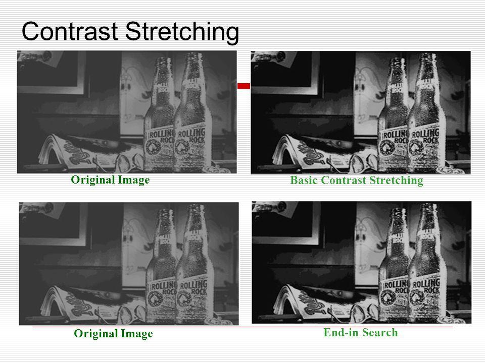Original Image Convert Image Contrast Stretching