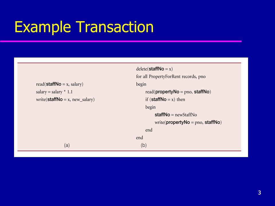 3 Example Transaction