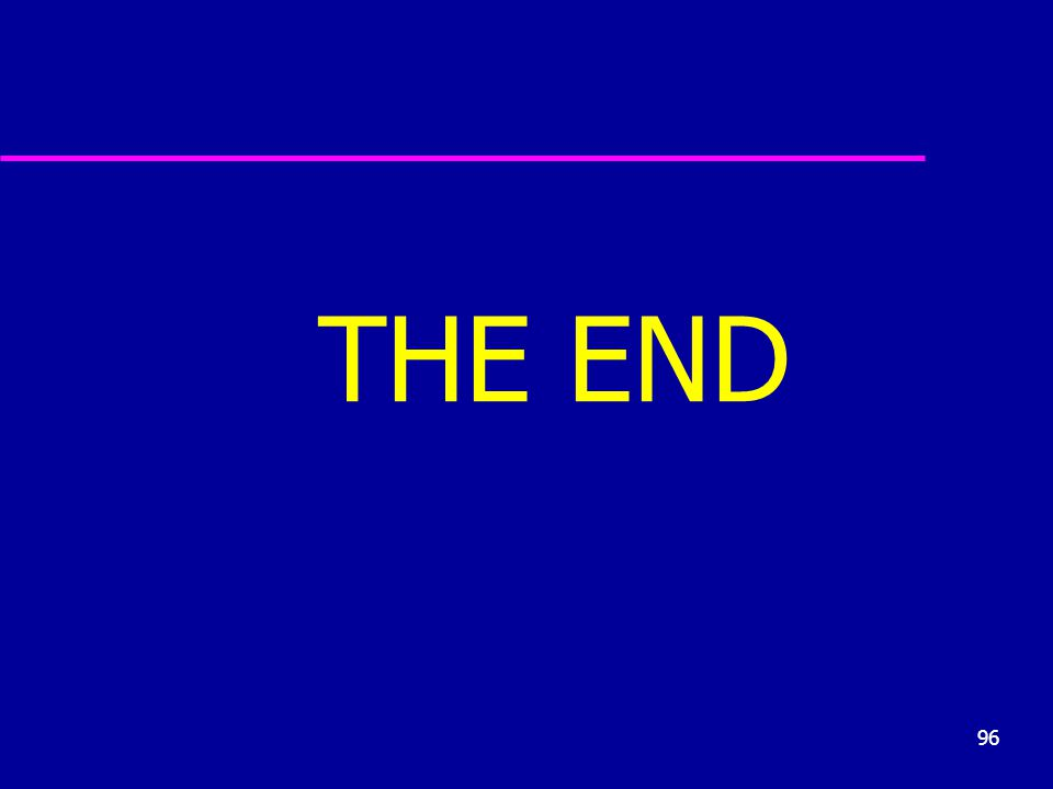 96 THE END