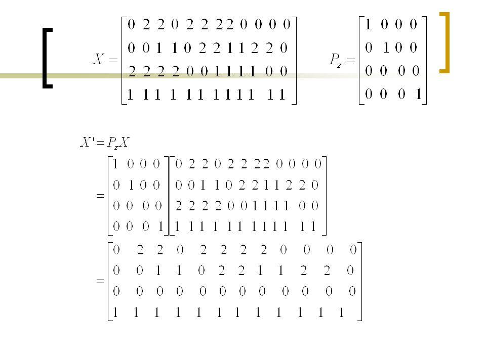 Translate object by [0 m n]