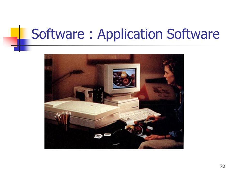 78 Software : Application Software