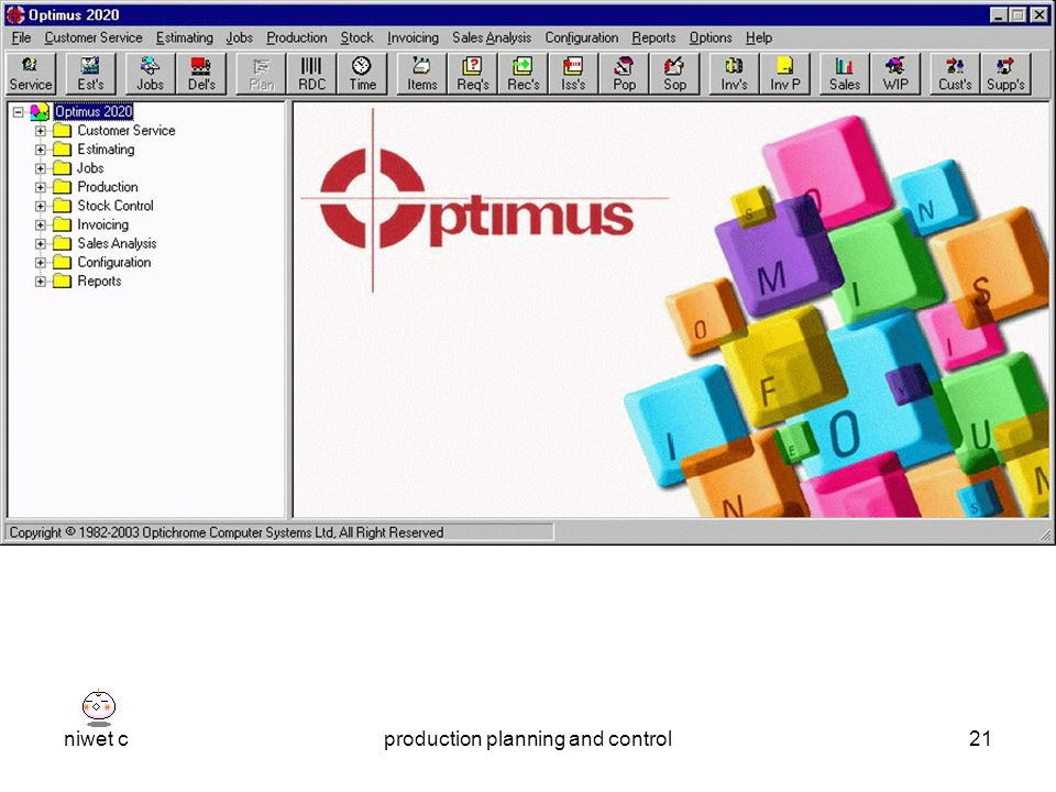 niwet cproduction planning and control21