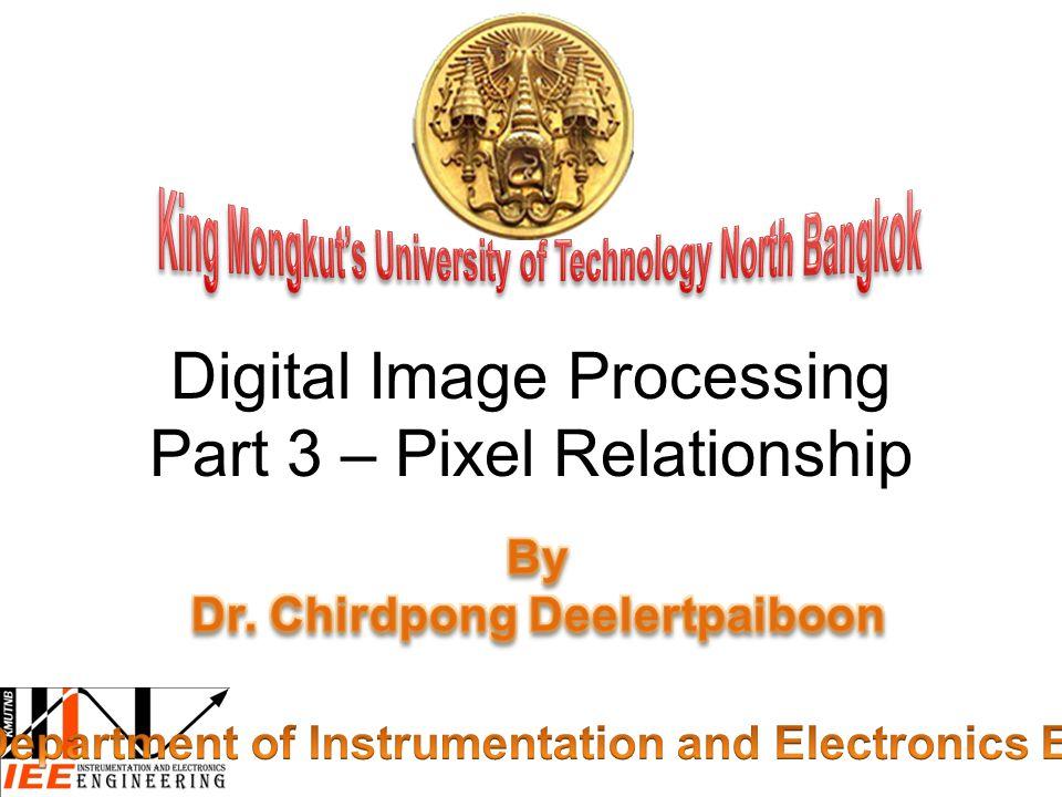 Digital Image Processing Part 3 – Pixel Relationship