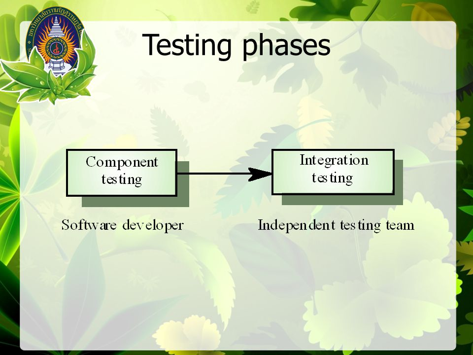 1, 2, 3, 8, 9 1, 2, 3, 4, 6, 7, 2 1, 2, 3, 4, 5, 7, 2 1, 2, 3, 4, 6, 7, 2, 8, 9 Test cases should be derived so that all of these paths are executed A dynamic program analyser may be used to check that paths have been executed Independent paths