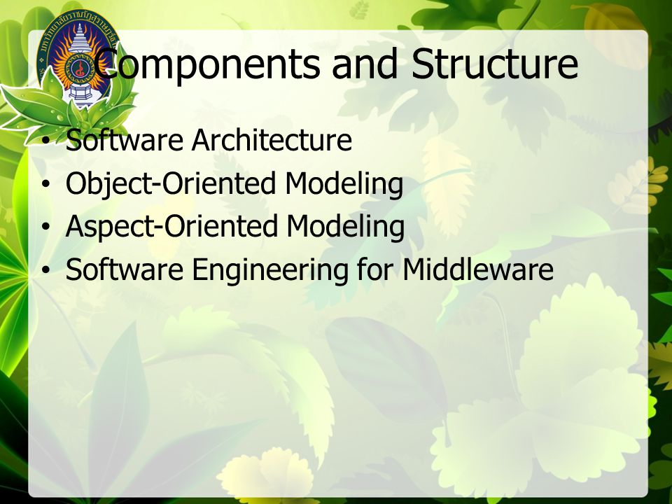 Reasoning and Representation Software Analysis Formal Specification Mathematical Foundations of Software Engineering