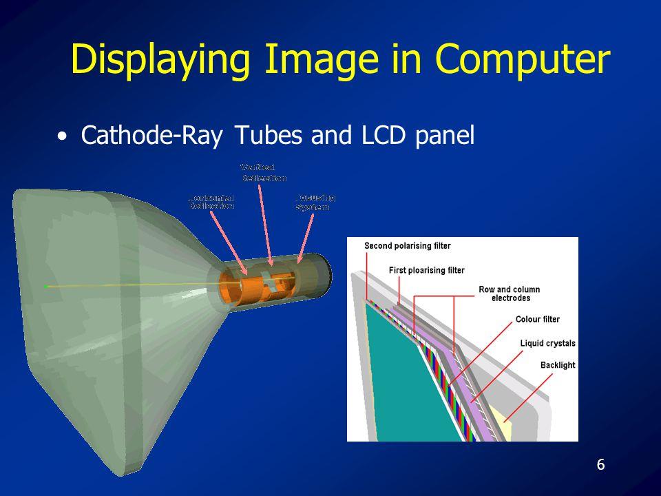 47 JPEG Joint Photographic Experts Group.jpg.jpeg ใช้วิธีการบีบอัดแบบ JFIF (JPEG File Interchange Format) สามารถใช้ได้กับทุกระบบปฏิบัติการ เป็นระบบสีจริง True Color 24 bit เมื่อนำไปแสดงผลแบบ 8 bit จะสร้างสีใหม่ dithering เป็น Lossy Compression เหมาะสำหรับภาพเหมือนจริง หรือภาพจำนวนสี มาก ๆ