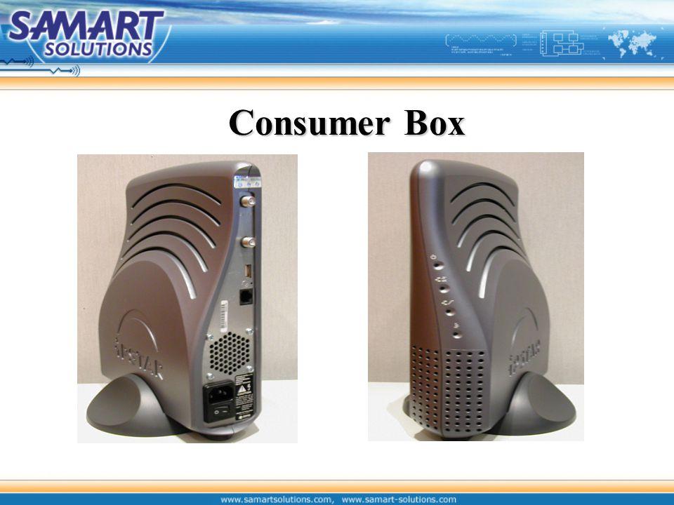 แสดงการเชื่อมต่ออุปกรณ์ ณ สถานีปลายทาง Audio Code Voice Gateway Consumer Box 1 2345 Switch hub