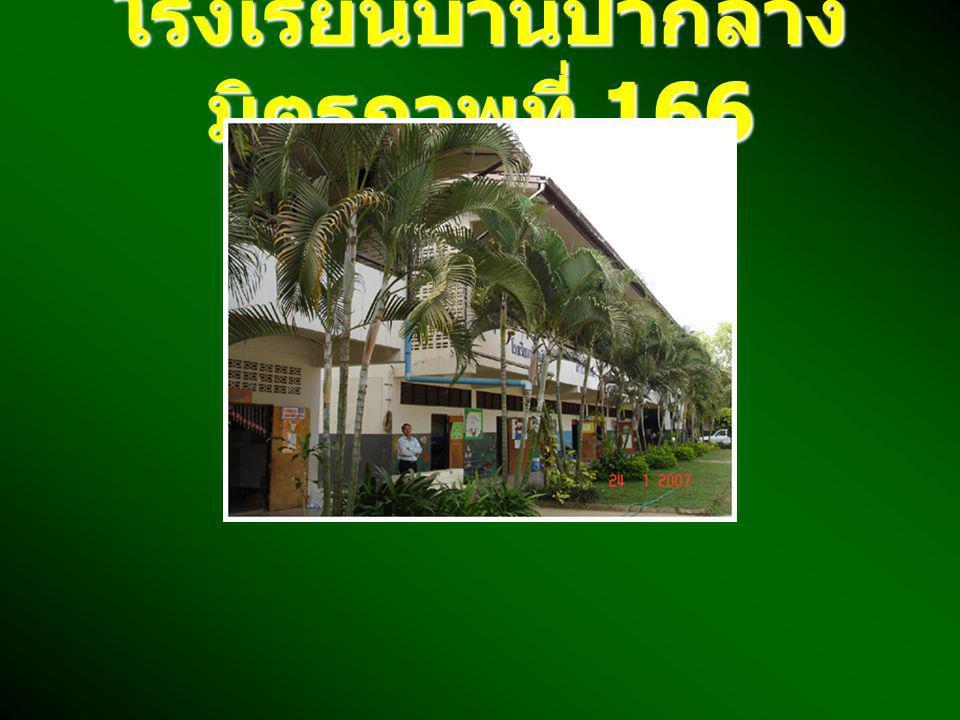 โรงเรียนบ้านป่ากลาง มิตรภาพที่ 166