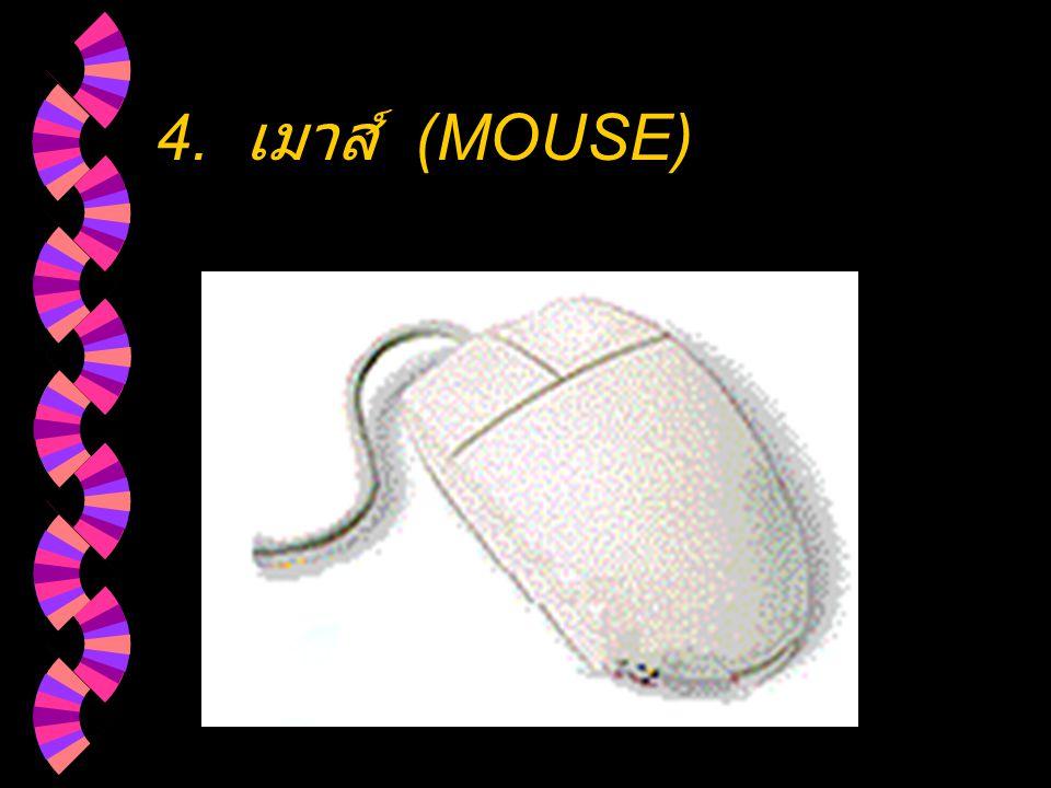 4. เมาส์ (MOUSE)