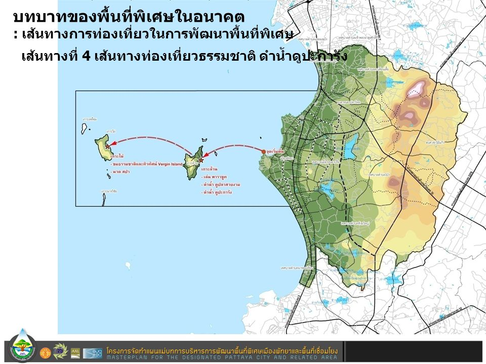 เส้นทางท่องเที่ยวที่ 4 บทบาทของพื้นที่พิเศษในอนาคต : เส้นทางการท่องเที่ยวในการพัฒนาพื้นที่พิเศษ เส้นทางที่ 4 เส้นทางท่องเที่ยวธรรมชาติ ดำน้ำดูปะการัง