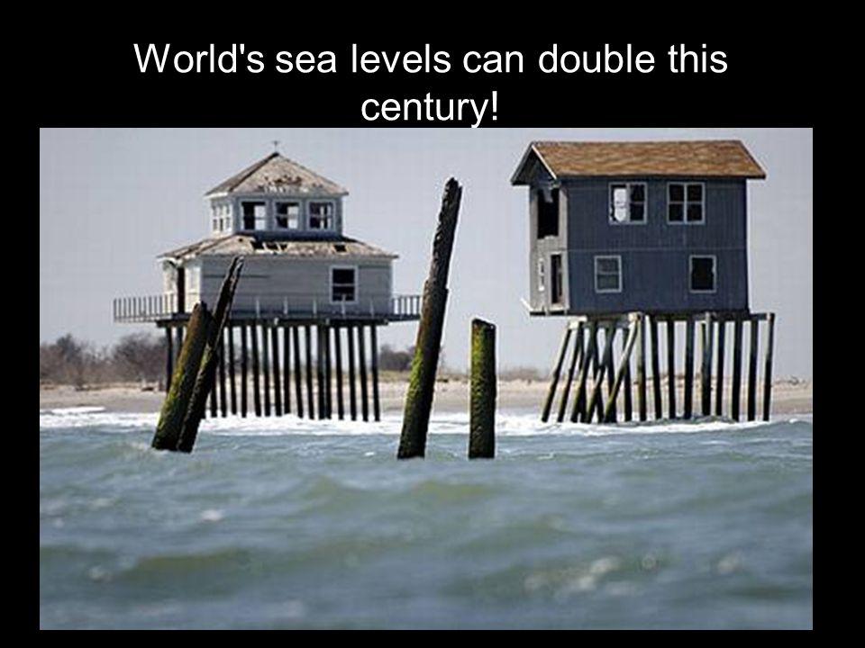 1 สิงหาคม 2551 จิรพล สินธุนาวา 18 World's sea levels can double this century!