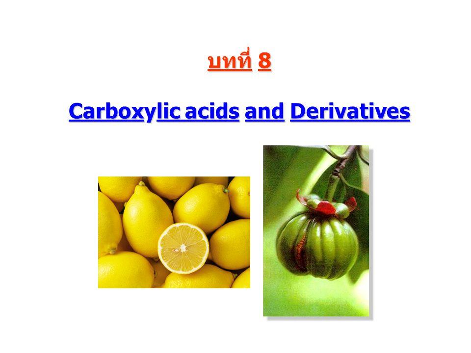 Carboxylic acids 2