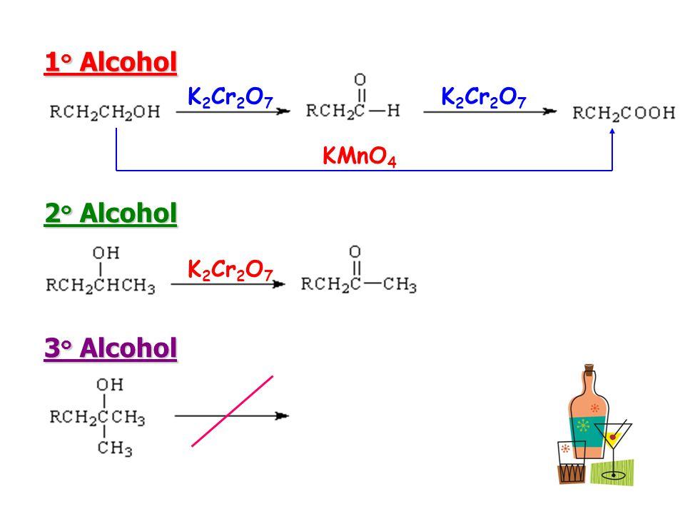 1 ๐ Alcohol 1 ๐ Alcohol 2 ๐ Alcohol 2 ๐ Alcohol 3 ๐ Alcohol 3 ๐ Alcohol K 2 Cr 2 O 7 KMnO 4