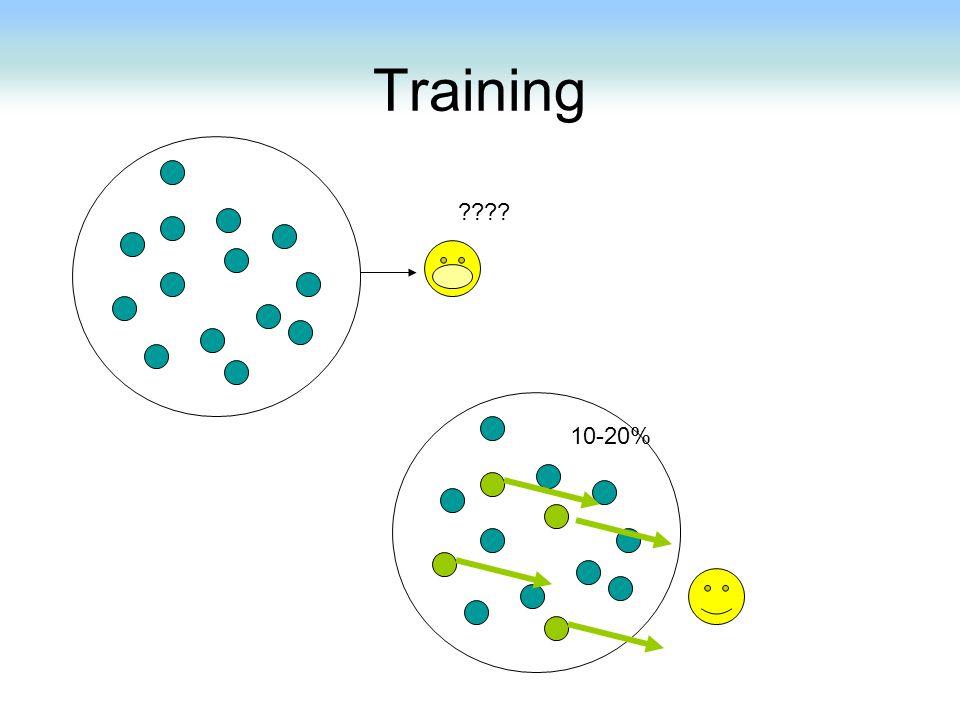 Training ???? 10-20%