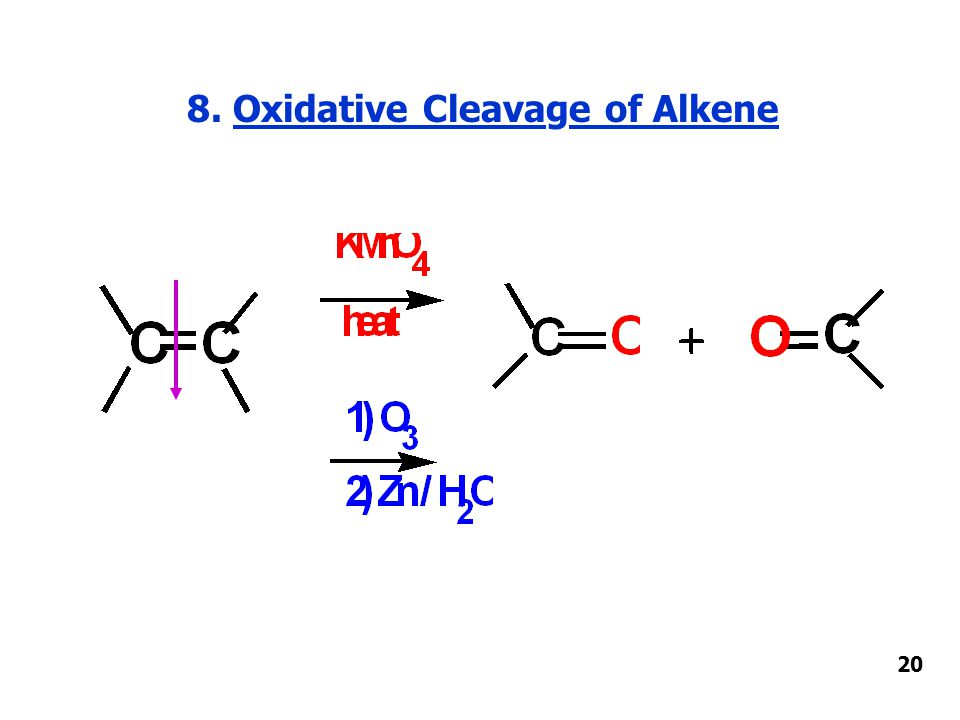 8. Oxidative Cleavage of Alkene 20