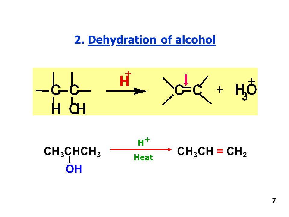 7. Oxidation of alkene (Glycol formation) Glycol (Diol) 18