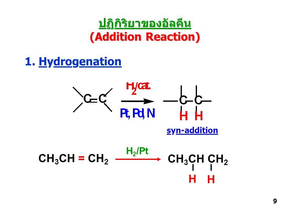 2. Halogenation anti-addition 10