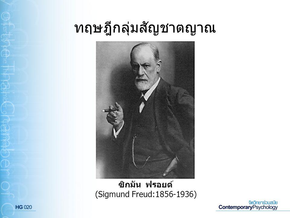 ทฤษฎีกลุ่มสัญชาตญาณ ซิกมัน ฟรอยด์ (Sigmund Freud:1856-1936)