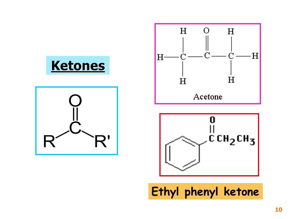 Ethyl phenyl ketone 10 Ketones