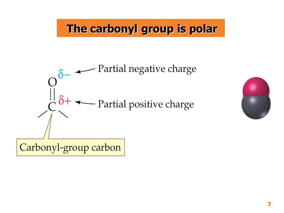 Solubility Solubility  อัลดีไฮด์ละลายน้ำได้ เนื่องจากออกซิเจน ในหมู่คาร์โบนิลสามารถสร้างพันธะไฮโดรเจน กับโมเลกุลของน้ำ (ขนาดโมเลกุลใหญ่ขึ้นละลายน้ำน้อยลง) 14