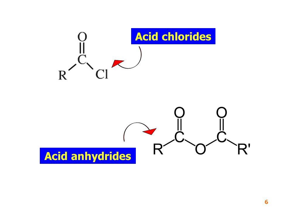 2-Propanol (2 ๐ Alcohol) t-Butyl alcohol (3 ๐ Alcohol) Acetaldehyde Acetone 37