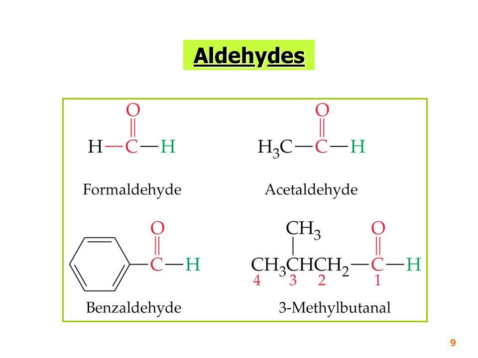 9 Aldehydes