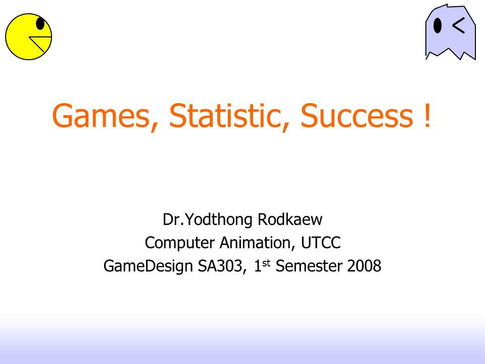 Games, Statistic, Success .