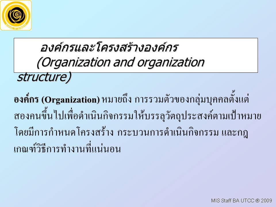 1.องค์กรที่แสวงหาผลกำไร (Profit organization) (Profit organization) 2.