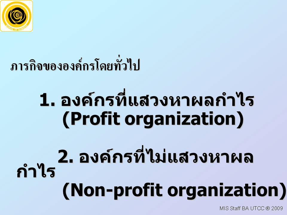 โครงสรางองคกร (Organization Structure) เปนการจัดกลุมงานหรือระบบงานเขาดวยกันตามลักษณะ งาน หนาที่ความรับผิดชอบ และสายการบังคับบัญชา โดยปกติโครง สรางองคกรที่เหมาะสมกับกลยุทธองคกรจะชวยใหขจัดความไม ชัดเจนของอํานาจหนาที่ในองคกร และชวยใหเกิดการประสานงานที่ ดีขึ้น ทําใหองคกรดําเนินการไดอยางเปนระบบ จะนับวาโครง สรางองคกรเปนสวนหนึ่งของเครื่องมือในการจัดการองคกรก็ได เพราะองคกรก็เปนผลจากการจัดการองคกร