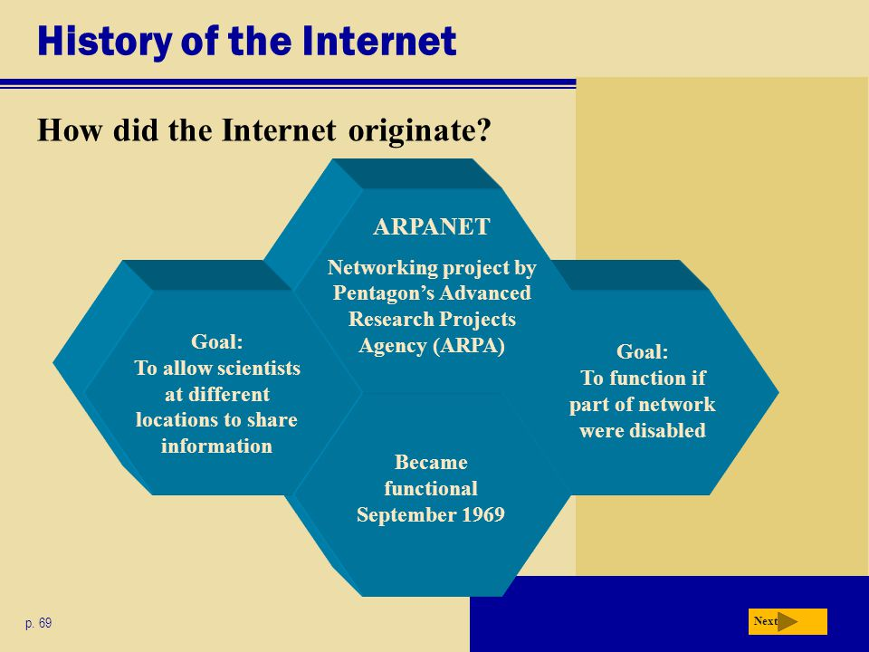 History of the Internet How has the Internet grown.