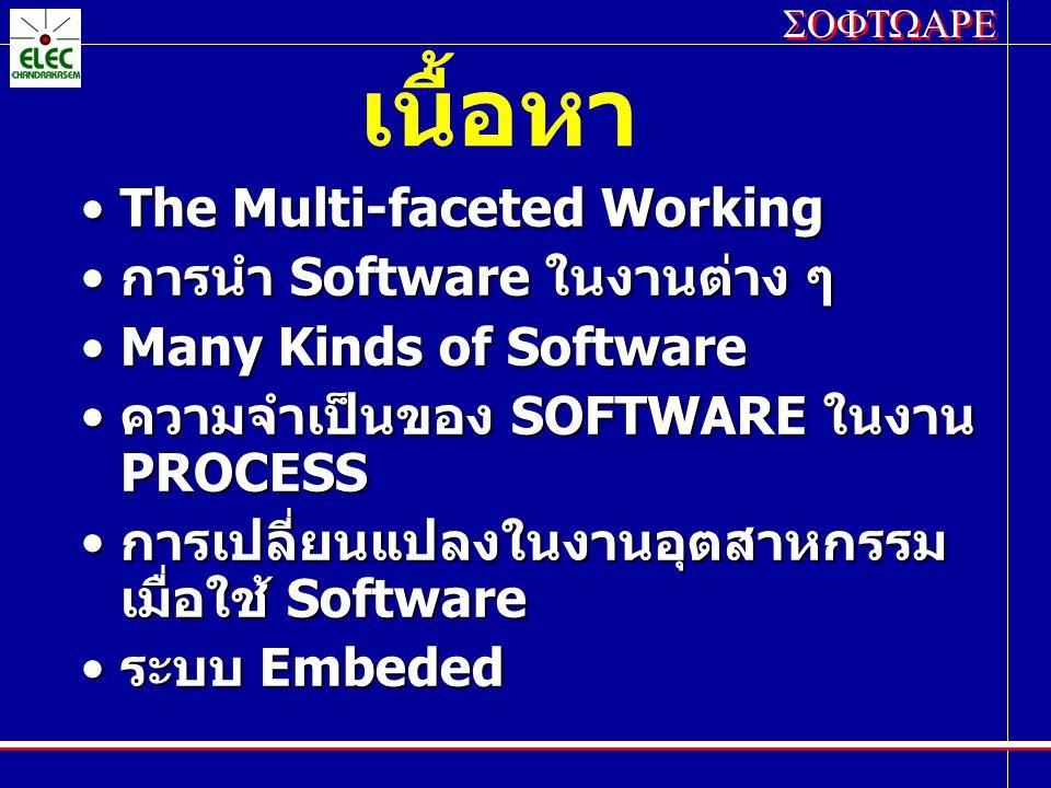 SOFTWARE ตัวอย่าง ของระบบ