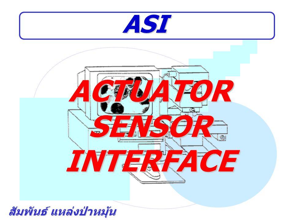 สัมพันธ์ แหล่งป่าหมุ้น ระบบ ASI คืออะไร ปัจจุบันเทคโนโลยีด้านระบบบัส ถือว่าเป็นเรื่องที่ไกล้ตัวมาก มีเครื่องจักร อัตโนมัติจำนวนไม่น้อยขณะนี้ที่ใช้ระบบ เทคโนโลยี ASI-BUS ดังนั้นจึงได้เรียบ เรียงขึ้นเพื่อเป็นพื้นฐานสำหรับทุกท่าน ที่ทำงาน ในภาคอุตสากหกรรม และเป็น แนวทางเพื่อเตรียมความพร้อมสำหรับ บุคคลที่จะก้าวเข้าสู่ระบบอุตสาหกรรม
