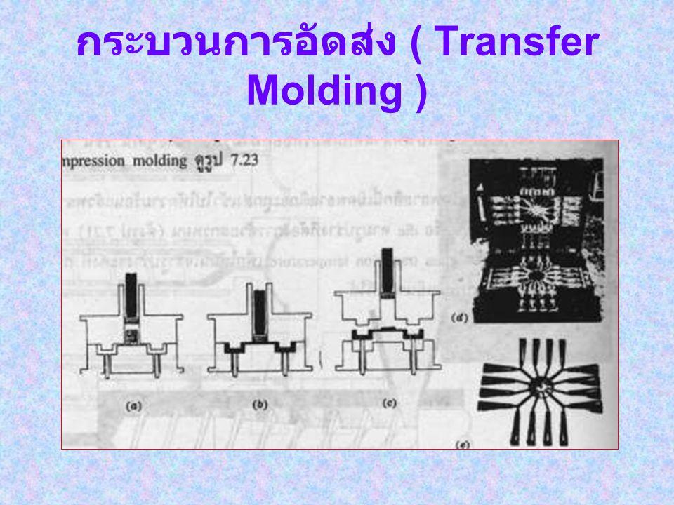 กระบวนการอัด ( Compression Molding )