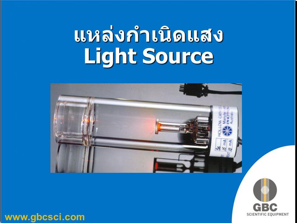www.gbcsci.com แหล่งกำเนิดแสง Light Source