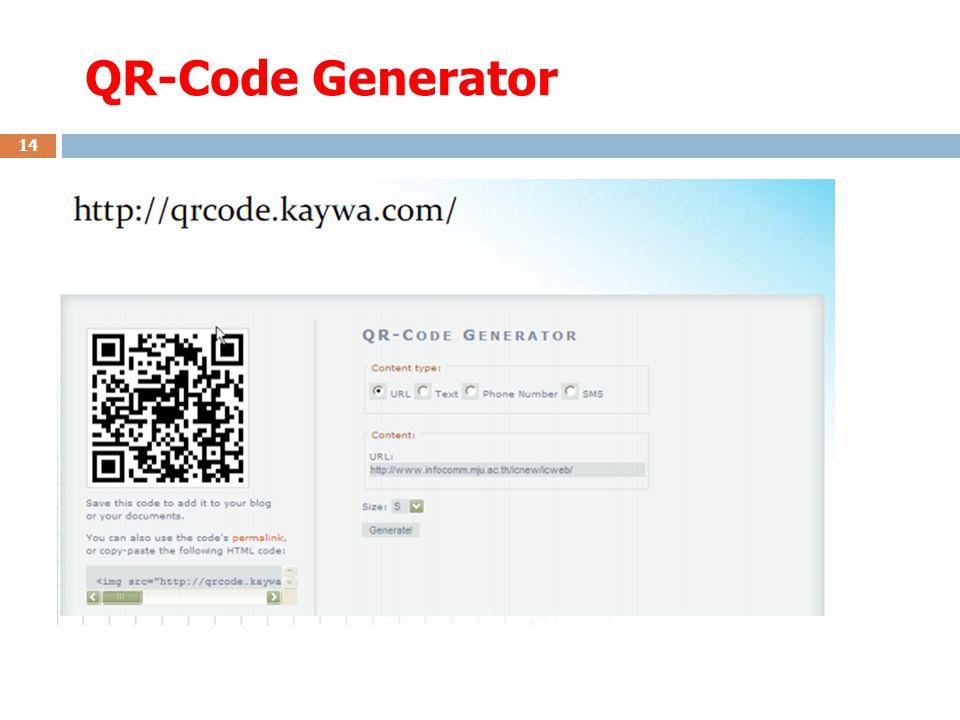QR-Code Generator 14